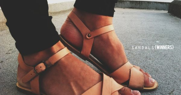 nude leather sandals, seriously want these so bad! | See more about Leather Sandals, Sandals and Leather.