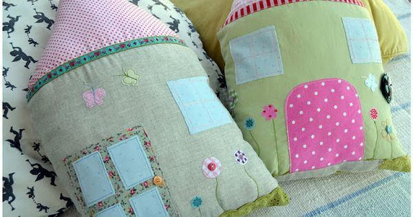 diy h uschen kissen n hen anleitungen und selber machen. Black Bedroom Furniture Sets. Home Design Ideas