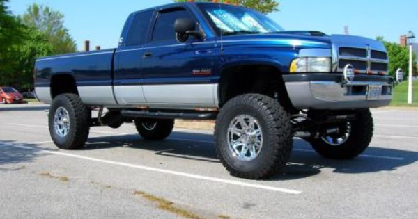 Misc 2500 3500 02 Dodge Ram 2500 4x4 W 6 Of Lift Dodge Ram 2500 Dodge Ram Dodge