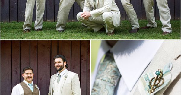 groom in linen suit | CHECK OUT MORE IDEAS AT WEDDINGPINS.NET |