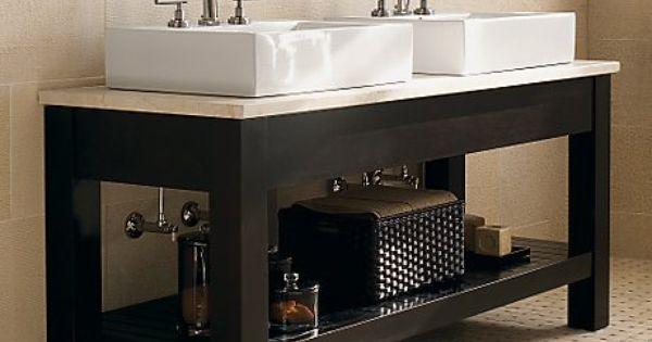 Plan vasque en c ramique vasque salle de bain for Console lavabo salle de bain