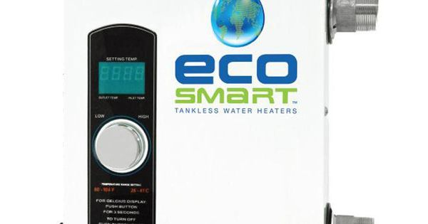 Ecosmart Smart Spa 11 Tankless Electric Spa Heater 11 Kw 220 V Smart Spa 11 The Home Depot In 2020 Tankless Water Heater Water Heater Electric Water Heater