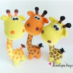 Crochet plush toy giraffe en 2020   Amigurumi patrones gratis ...   243x243