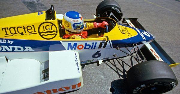 Keke Rosberg Williams Honda FW10 Detroit 1985 Formula