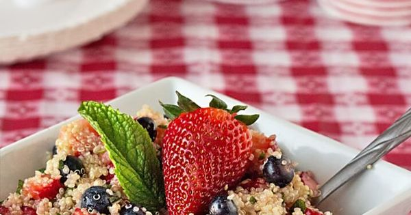 4th of july quinoa salad