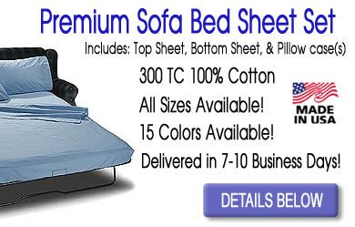 Premium Sofa Bed Sheets 300 Tc 100 Cotton Sofa Bed Sheets