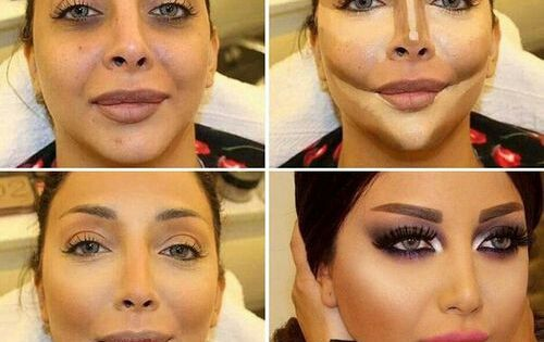 Amazing makeup transformation.