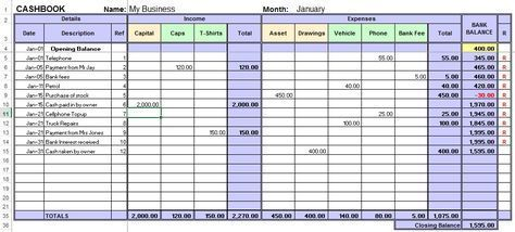 Excel Cash Book For Easy Bookkeeping Bookkeeping Templates Bookkeeping Business Small Business Bookkeeping