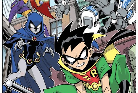Patrol Teen Titans 62