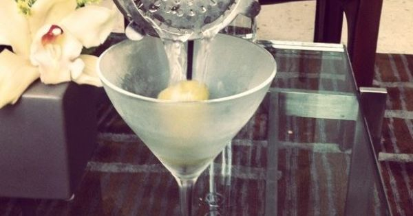 Martini At David Burkes Primehouse  On The Rocks Pinterest