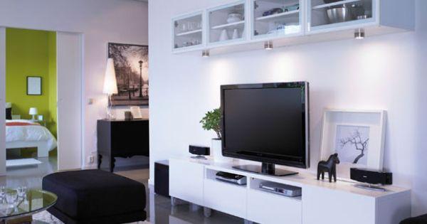Muebles y soportes de fijaci n para equipos multimedia - Mueble televisor ikea ...