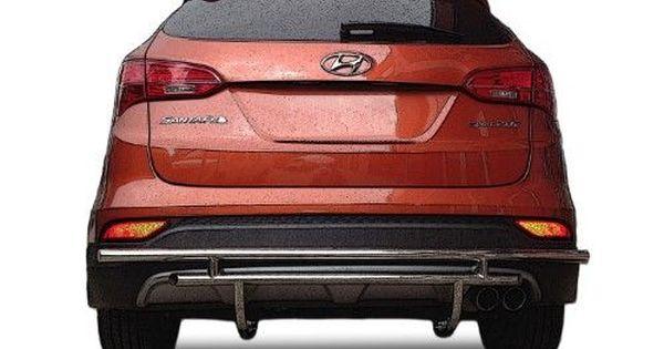 Hyundai Santa Fe Rear Bumper Guard Fits 2013 2016 Models Protection Accessories Rdhy 303 55 Sil Hyundai Santa Fe Sport Hyundai Santa Fe Santa Fe Sport