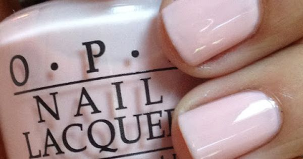 OPI: Second Honeymoon - looks like a pale pink jelly shade -