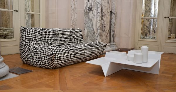 Togo sofa and cuts occasional table french ambassador palace event in istanbul ligneroset - Divano di istanbul ...