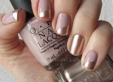 Looking for a simple and pretty mani to subtly complement your party