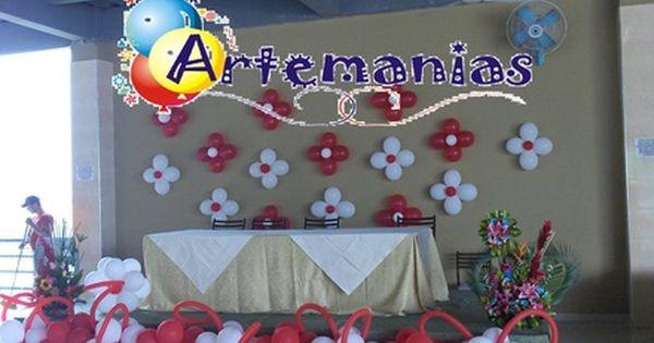 Globos para el dia de las madres artemanias ecuador - Decoracion dia de la madre ...