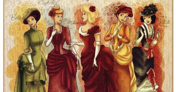 vintage disney princesses | Vintage Princesses - disney-princess Fan Art
