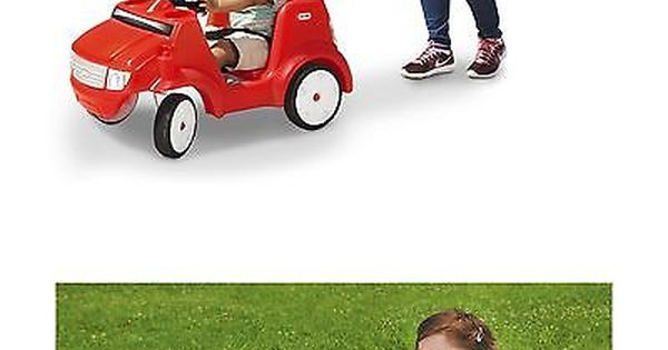 Child Size 2574 Little Tikes Quiet Drive Buggy - Red Ride On New