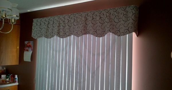 Fabric Valance For Vertical Blinds Google Search