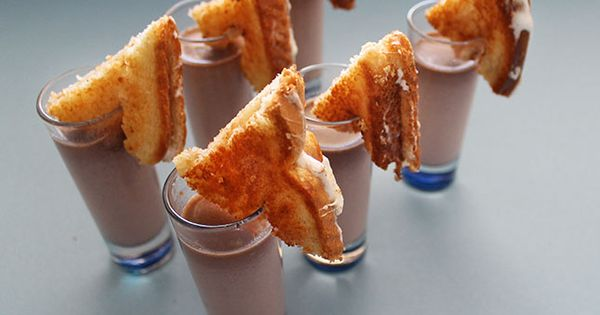 Nutella Hot Chocolate and Marshmallow Sandwiches. BRILLIANT!