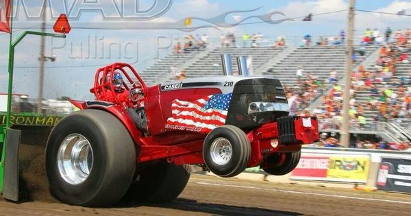 Tractor Pull Sled Flag : Tractor pulls showing our flag pinterest