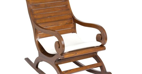 Silla mecedora de madera estilo colonial mecedoras - Sillas estilo colonial ...