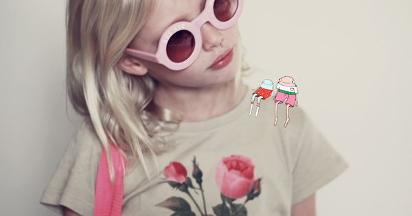 Violet Hume is a Wildfox Kid kids fashion