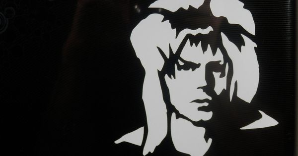 David Bowie Labyrinth Decal Vinyl Bumper Sticker Jareth