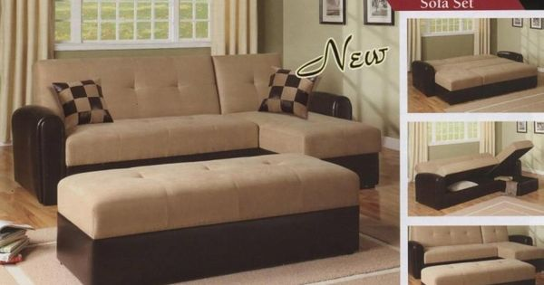 How To Make Twin Beds Into Couches Adjustable Storage Sofa Ottoman Turns Into A Bed Also