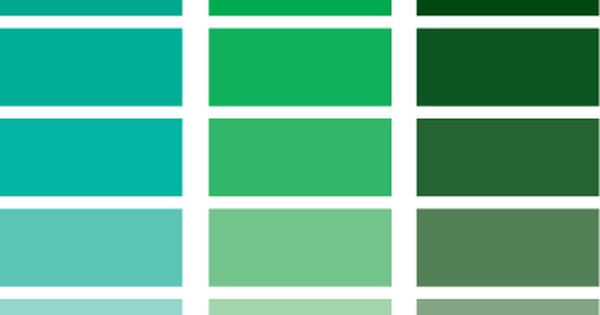 Green blue pantone green pinterest gr ne farben hue for Colores de pintura azul