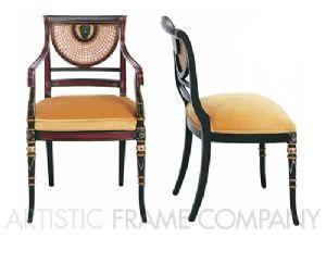 Thomas Sheraton An Early Regency Chair After Sheraton Regency