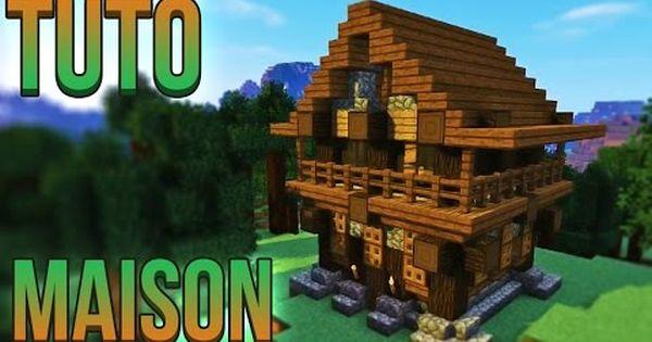 Tuto Belle Maison Minecraft Youtube Amazing Minecraft