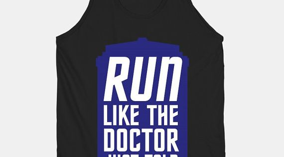 "18 Fandom Muscle Shirts You Didn't Know You Needed ""Run like the"