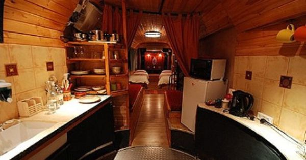Clunker Buses Transformed Into Hip Bed And Breakfast Hotels In Israel Treehugger Bus House Airstream Decor Hotel