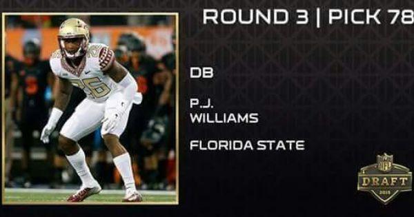 Nike NFL Mens Jerseys - Round 3 Pick 78....New Orleans Saints P.J. Williams | LOVE MY ...