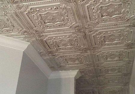 Elizabethan Shield Imitat Zinn Decke Fliesen 24 X 24 Dct 04 24quot Ceilings Dct Decke Elizabethan Flie Dekor Potolka Potolochnye Plitki Potolki
