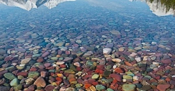 Lake McDonald, Glacier National Park, Montana The colors! The rocks! The reflection!