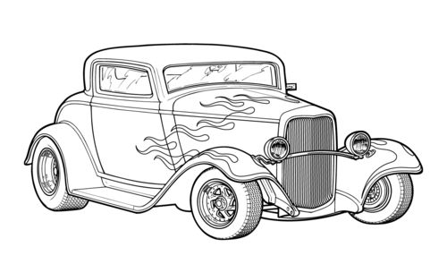 Download Hot Rod Coloring Pages Race Car Coloring Pages Truck Coloring Pages Cars Coloring Pages