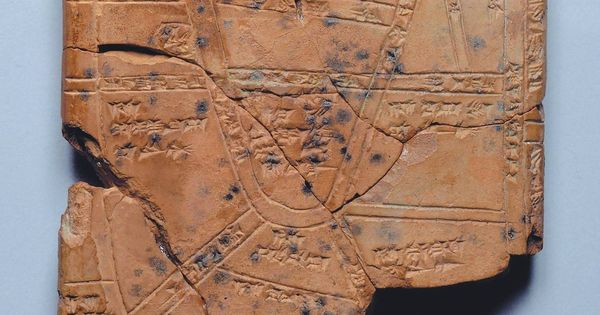 The Oldest Known Map Nippur This Ancient Clay