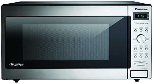 Panasonic Nn Sd762s Genius 1 6 Cuft 1250 Watt Sensor Microwave With Inverter Technology Stainless Steel Cooking Appliances Cooking Products Kitchenaid Countertop Microwave Built In Microwave Countertop Microwave Oven