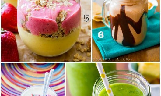 14 Slim-Down Smoothies with no added sugar. high protein (no protein powder!).