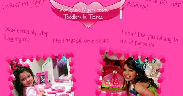Mackenzie Myers From Toddlers And Tiaras Makenzie Myers