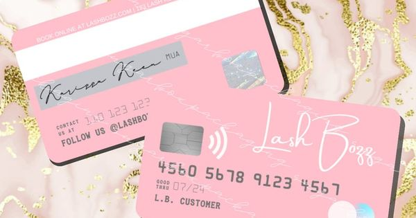 Diy Credit Card Business Cards Canva Template Etsy Salon Business Cards Business Card Printer Beauty Salon Business Cards