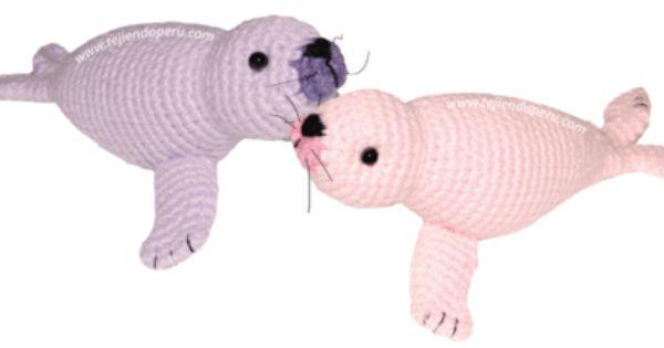 Como tejer una foca a crochet (amigurumi)! Amigurumi ...