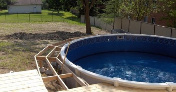 Cool Above Ground Pool Ideas Pool Above Ground Swimming