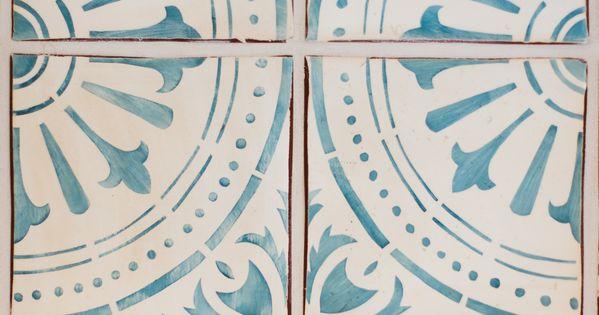 tabarka turquoise on white hydraulic pinterest neues. Black Bedroom Furniture Sets. Home Design Ideas