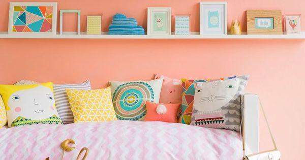 Paredes habitaci n de ni o muros pintados en zigzag for Paredes habitacion infantil