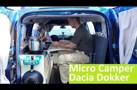 home made dacia dokker micro camping car van diy. Black Bedroom Furniture Sets. Home Design Ideas