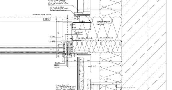 Horizontal Section Through CWFaçade ELEMENTS DE