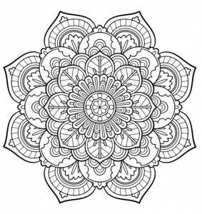 10 Mandalas Creativos Para Colorear Con Imagenes Mandalas Para